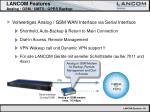 lancom features analog gsm umts gprs backup