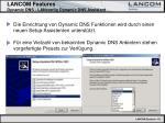 lancom features dynamic dns lanconfig dynamic dns assistent