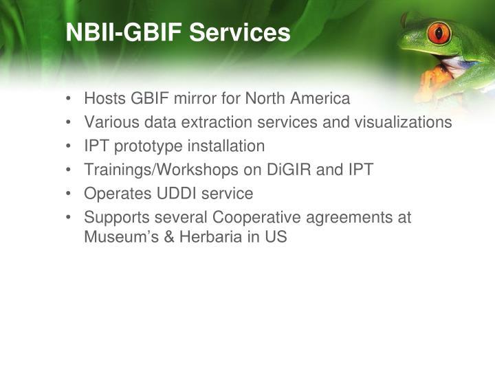 NBII-GBIF Services