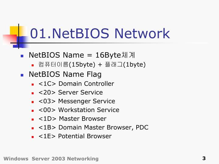 01.NetBIOS Network