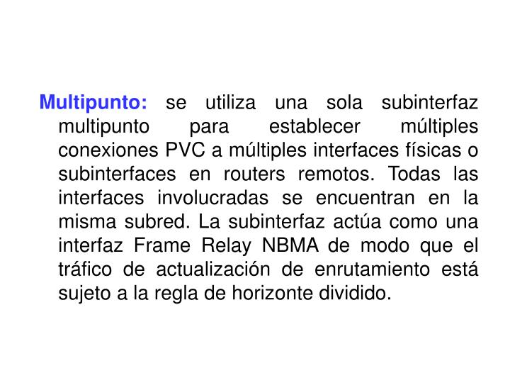 Multipunto: