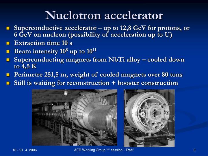 Nuclotron accelerator