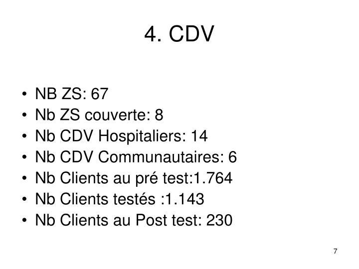4. CDV