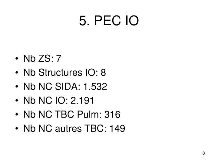 5. PEC IO