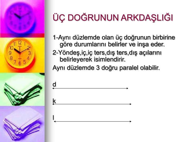 DORUNUN ARKDALII