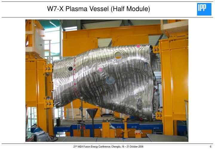 W7-X Plasma Vessel (Half Module)
