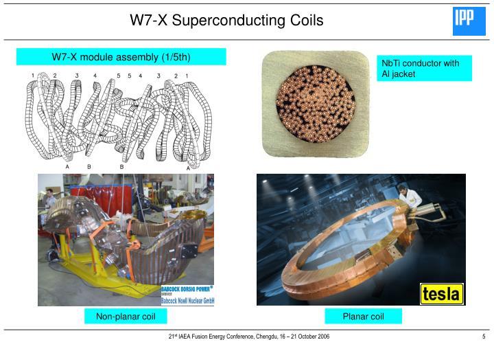 W7-X module assembly (1/5th)