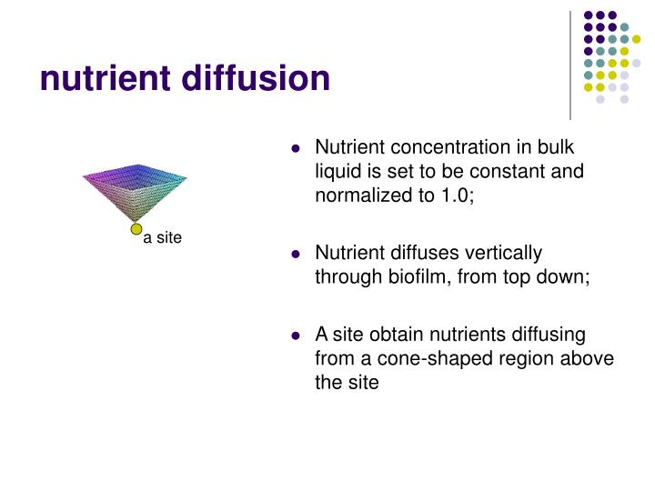 nutrient diffusion