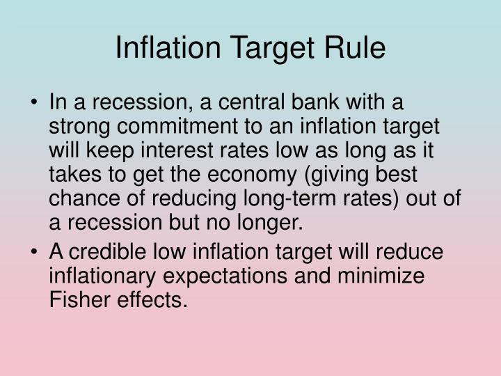Inflation Target Rule