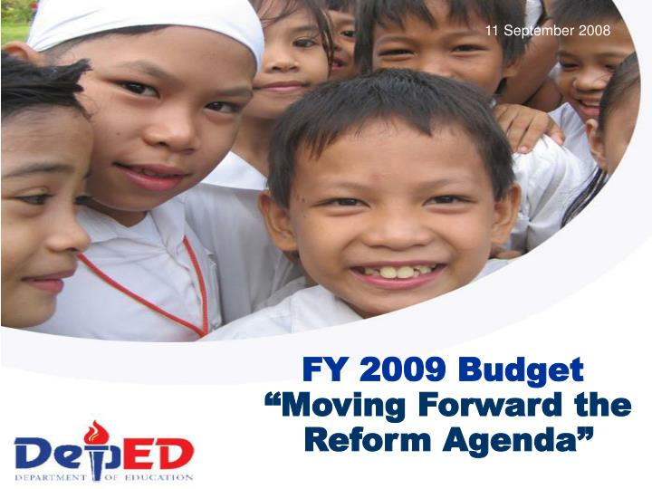 Moving forward the reform agenda