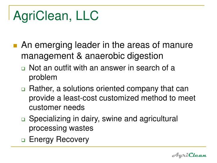 AgriClean, LLC