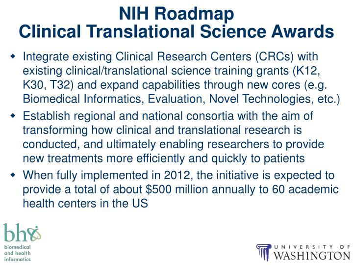 NIH Roadmap