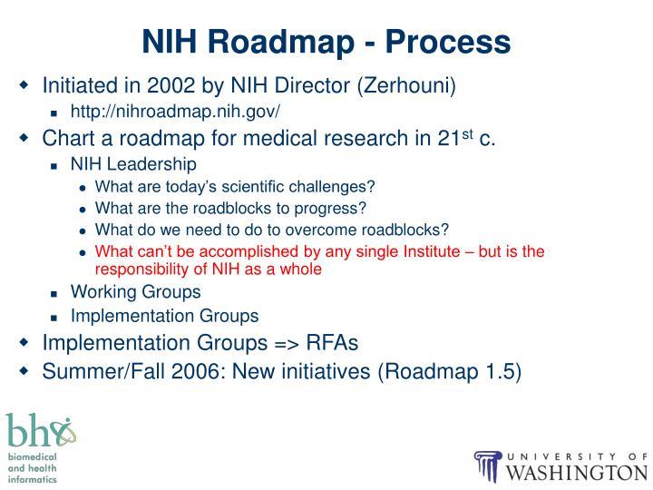 NIH Roadmap - Process
