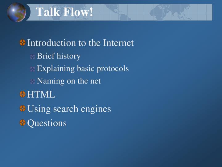 Talk Flow!