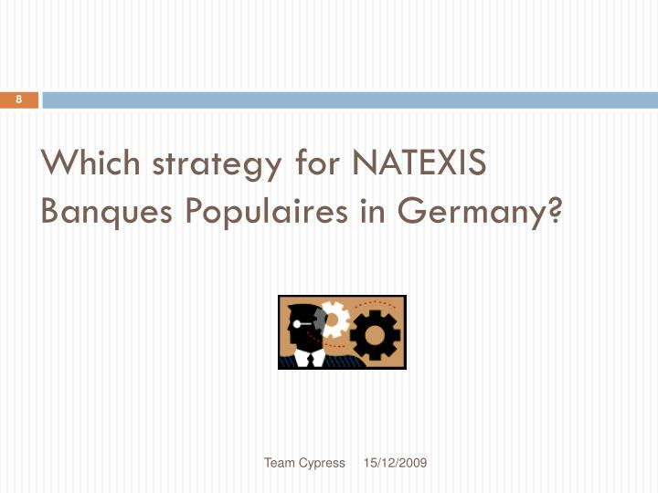 Which strategy for NATEXIS