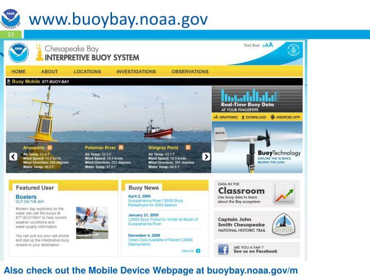 www.buoybay.noaa.gov