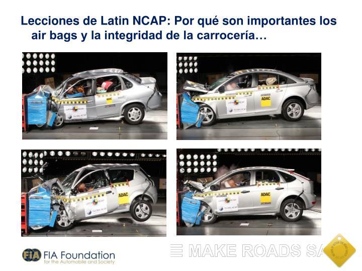Lecciones de Latin NCAP: Por qué son importantes los air bags y la integridad de la carrocería…