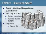 input current stuff