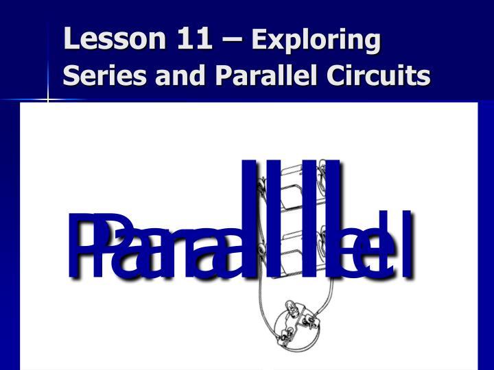 Lesson 11 –