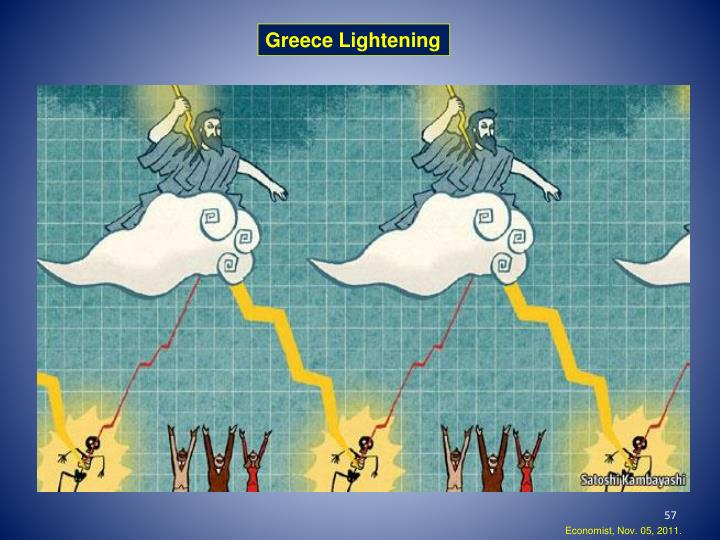 Greece Lightening