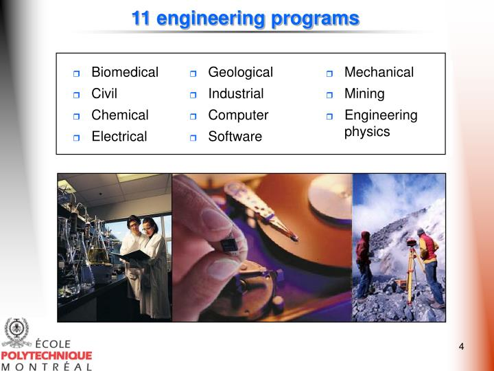 11 engineering programs