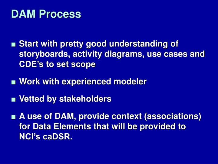 DAM Process
