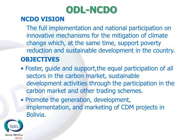 ODL-NCDO