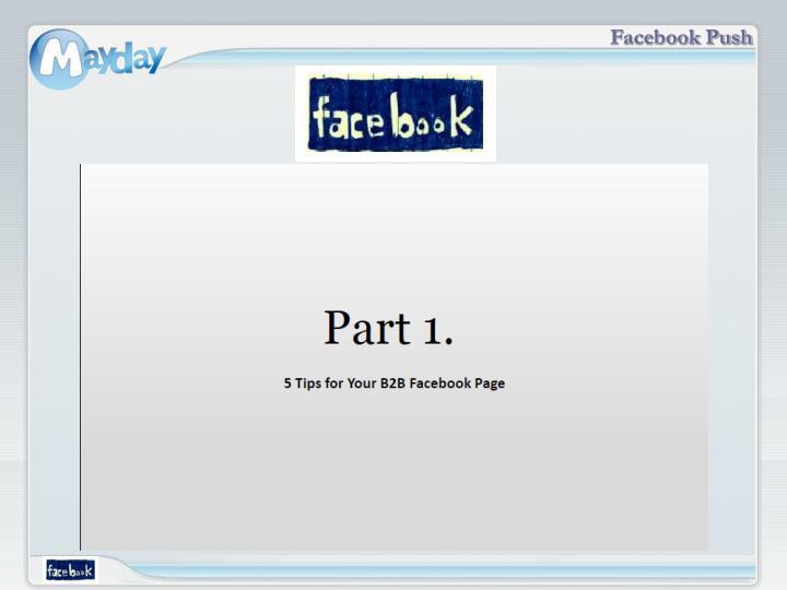 Facebook Push