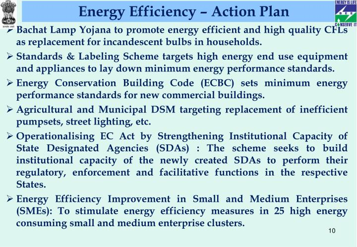 Energy Efficiency – Action Plan