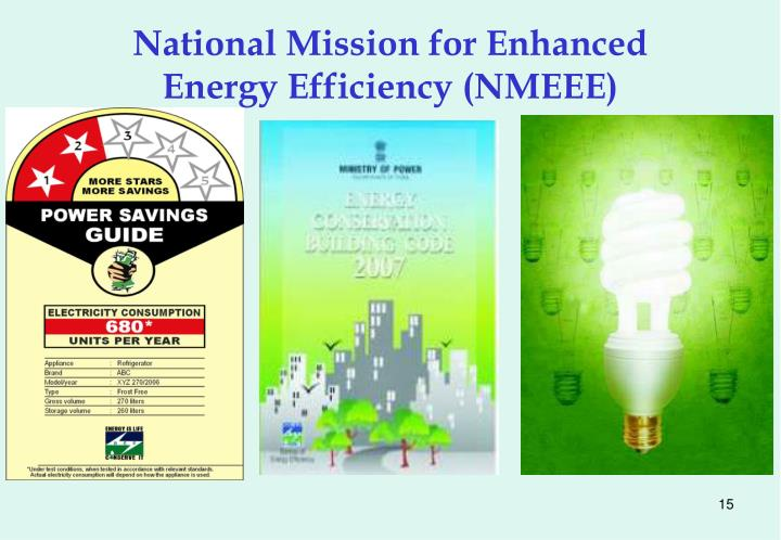 National Mission for Enhanced Energy Efficiency (NMEEE)