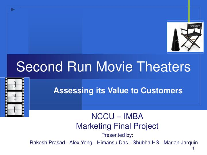 Second run movie theaters
