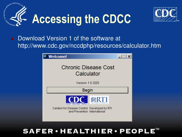 Accessing the CDCC