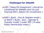 challenges for ehealth1