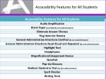 accessibility features for all students1