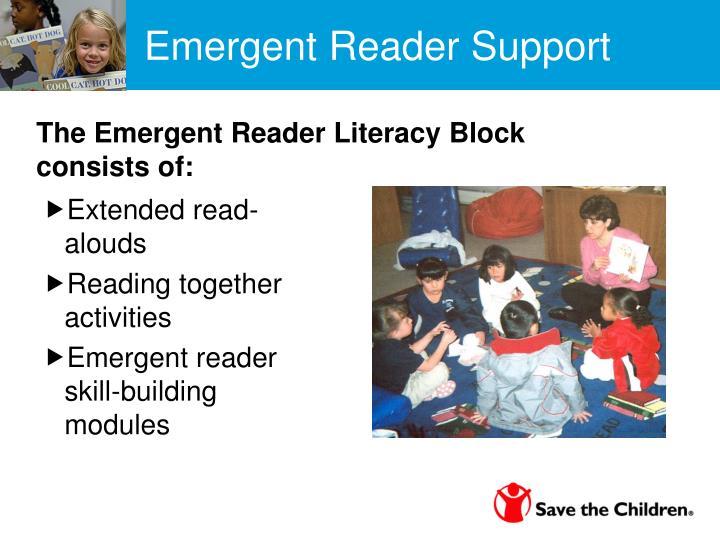 Emergent Reader Support