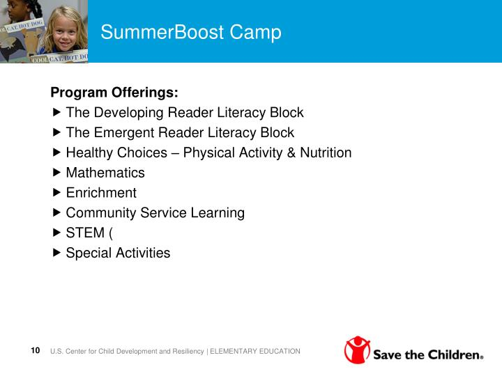 SummerBoost Camp
