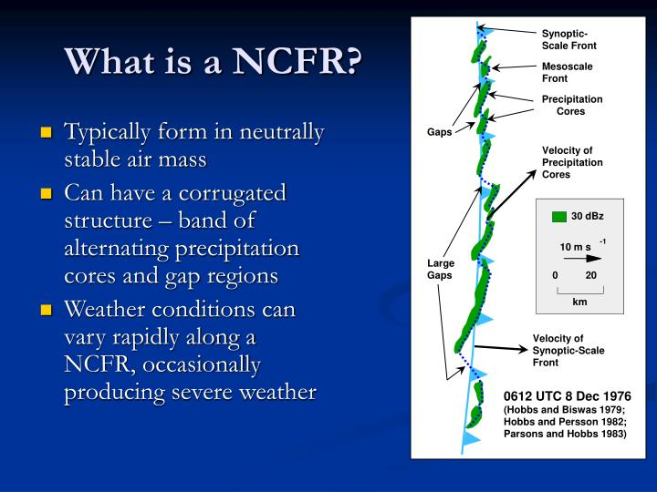 What is a ncfr