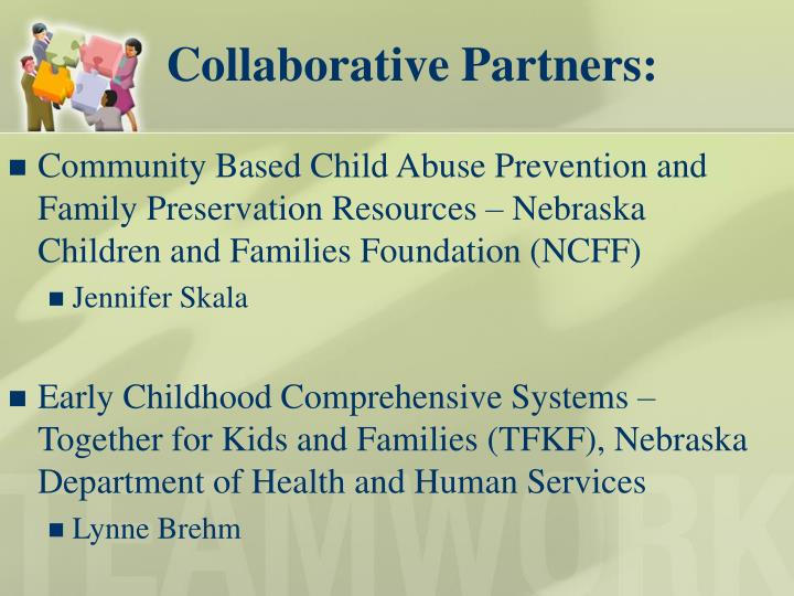 Community Based Child Abuse Prevention and Family Preservation Resources – Nebraska Children and Families Foundation (NCFF)