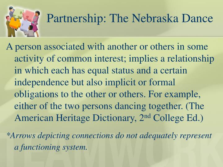 Partnership: The Nebraska Dance