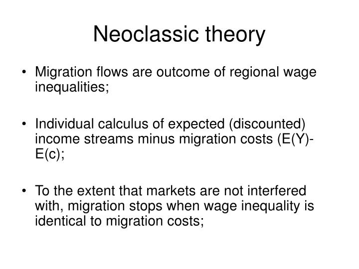 Neoclassic theory