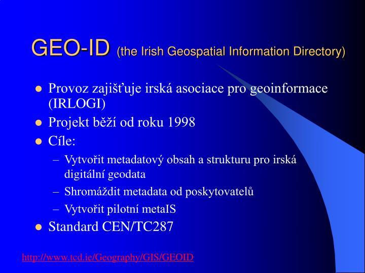 GEO-ID