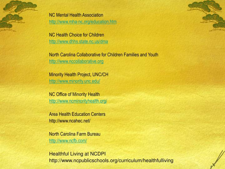NC Mental Health Association