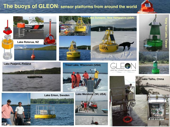 The buoys of GLEON
