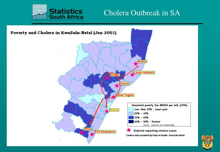 Cholera Outbreak in SA