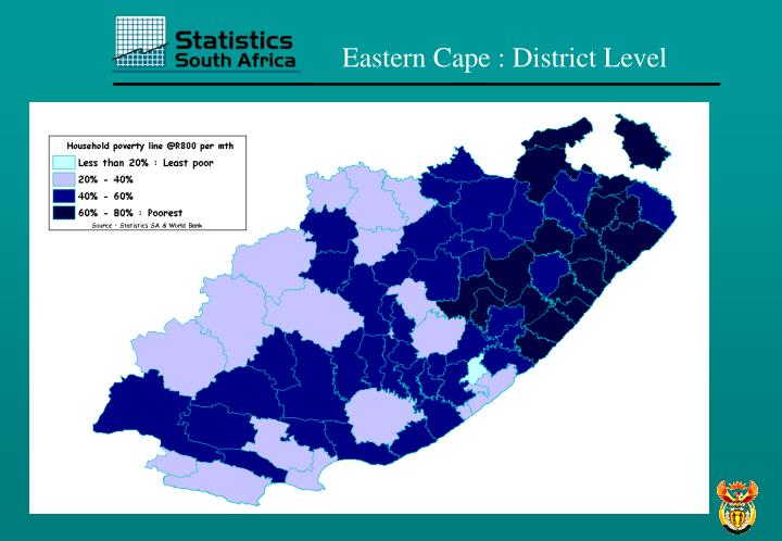 Eastern Cape : District Level