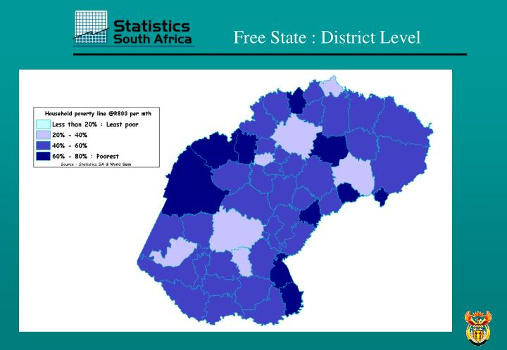 Free State : District Level