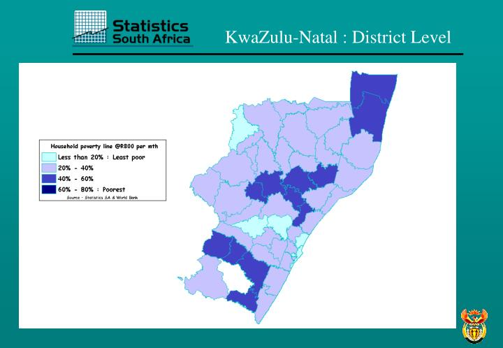 KwaZulu-Natal : District Level