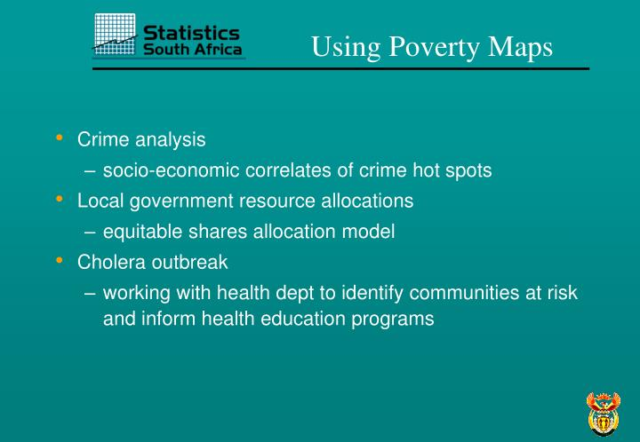 Using Poverty Maps