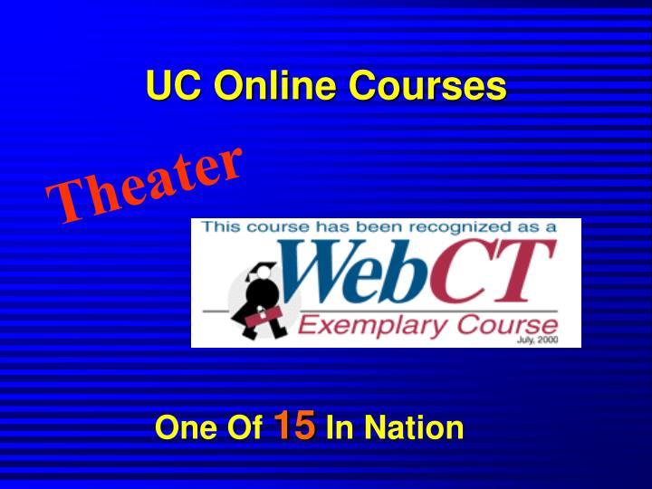 UC Online Courses