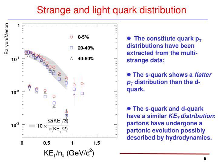 The constitute quark p